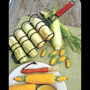 Corn on the Grill Basket
