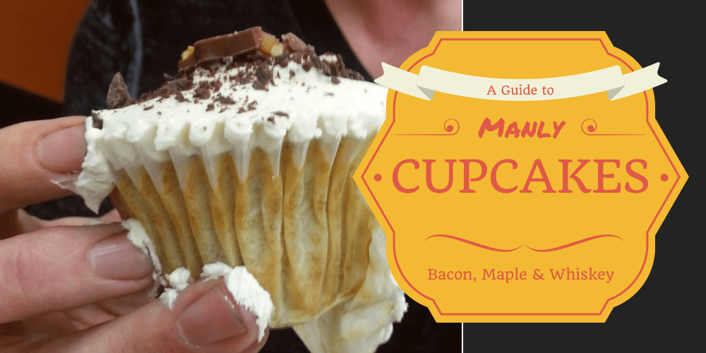 Manly Cupcakes Maple Bacon Whiskey