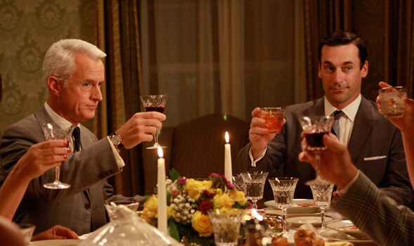 Mad Men party ideas from the experts.