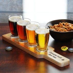 Beer is Art Personalized Beer Flight Set