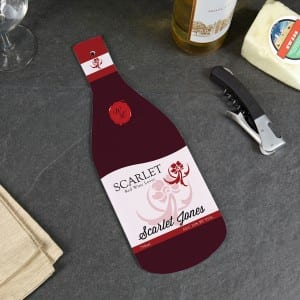 Wine Lover Glass Cutting Board