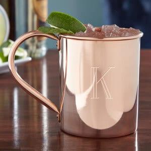 Solid Copper Mule Mug