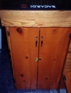 Bar Liquor Cabinet