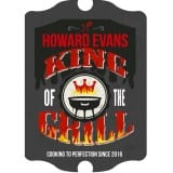 King of the Grill Sign