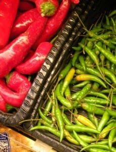 Relieve Heat from Super Spicy Peppers