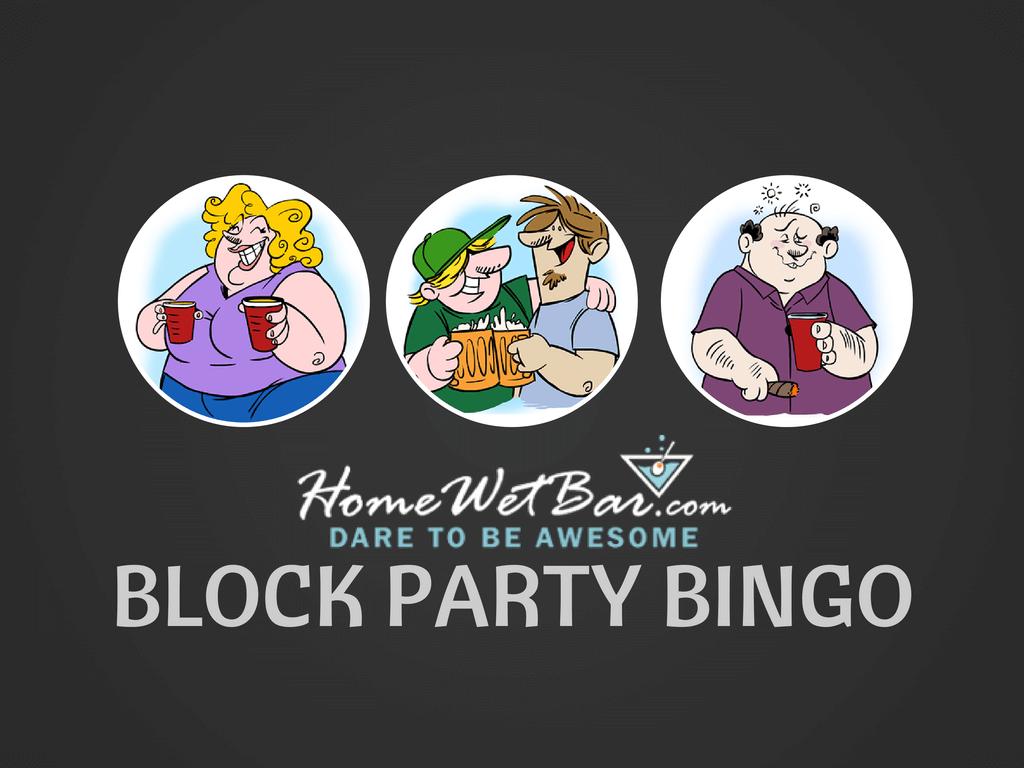 Block Party Bingo Party Game