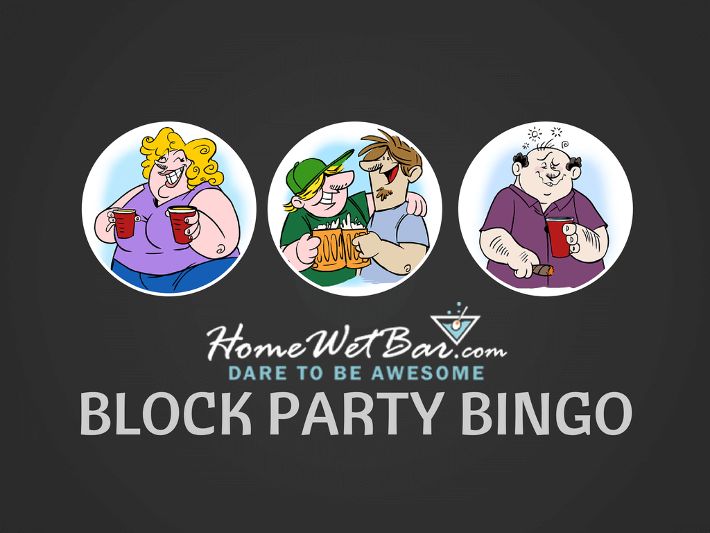 <b>Block Party Bingo</b>  <i>Outdoor Game</i>