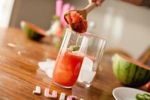 Watermelon Jalapeno Twist Mojitos