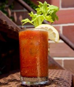 Bloody Caesar Cocktail