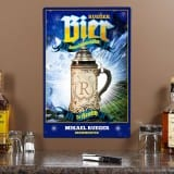 Personalized Brewmeister Metal Sign