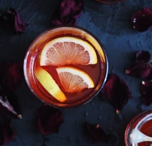 Rose Bourbon Cocktail