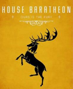 Game of Thrones House Baratheon