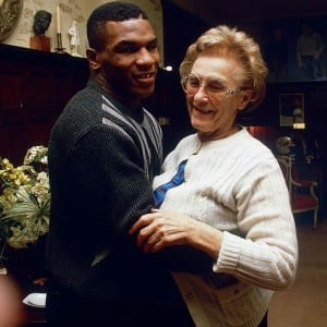 Mike Tyson & his adoptive Mom