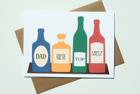 Funny Card for Dads - Whiskey Gifts for Men