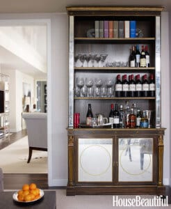 Stunning Change Your Bookcase Into A Boozecase With This Cool At Home Bar  Design Books And Bottles Are Comparable In Size Making Library Shelves  Great ...