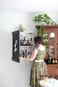 When It Comes To Home Bar Ideas, This One Is Simple, Subtle, And An Easy  DIY Project For A Productive Weekend.