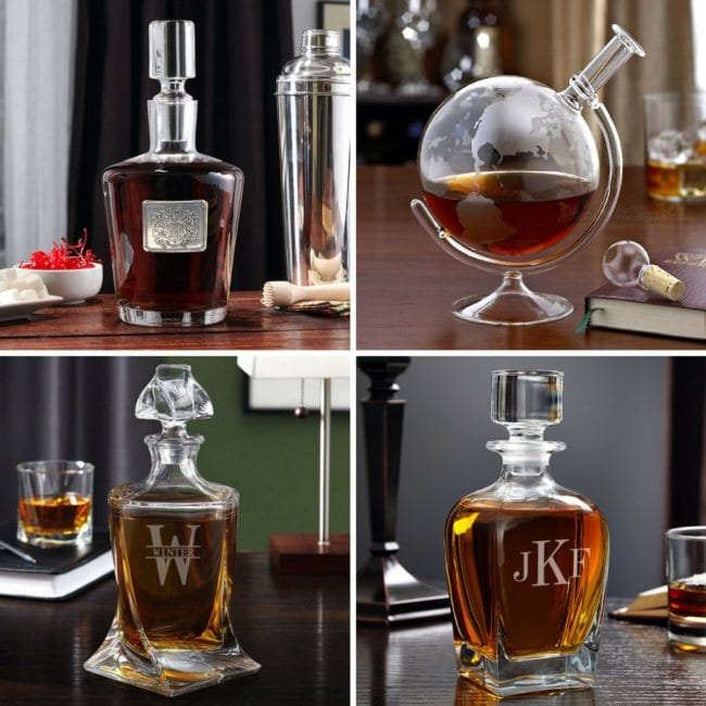 Whiskey Decanters for Bar