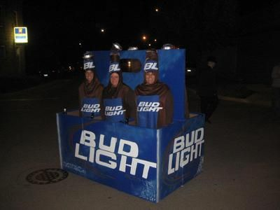 Bud Light Six Pack Beer Costumes & Best Boozy Halloween Costumes for Adults