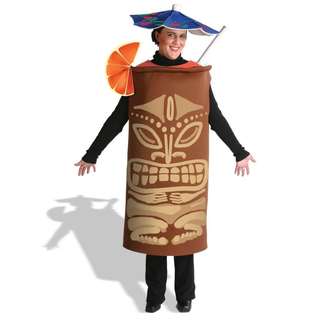 Tiki Mug Drinking Halloween Costumes