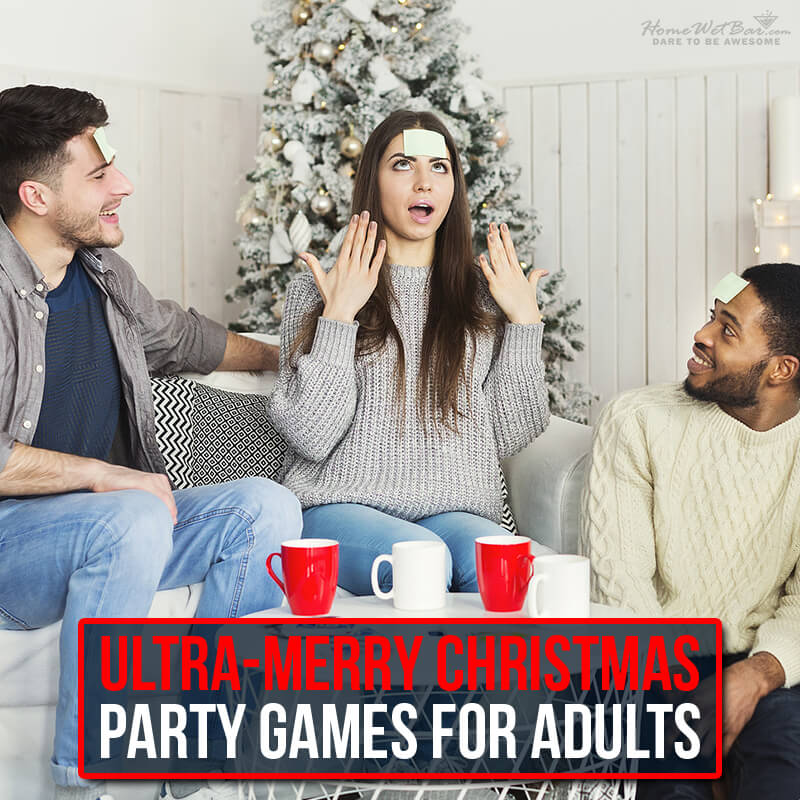 Ultra-Merry Christmas Party Games for Adults