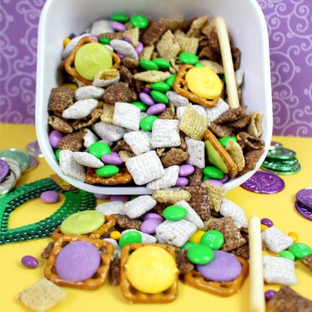 Mardi Gras Party Food
