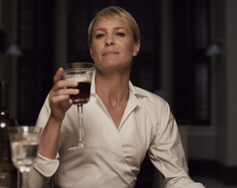 Claire and the House of Cards Drinking Game