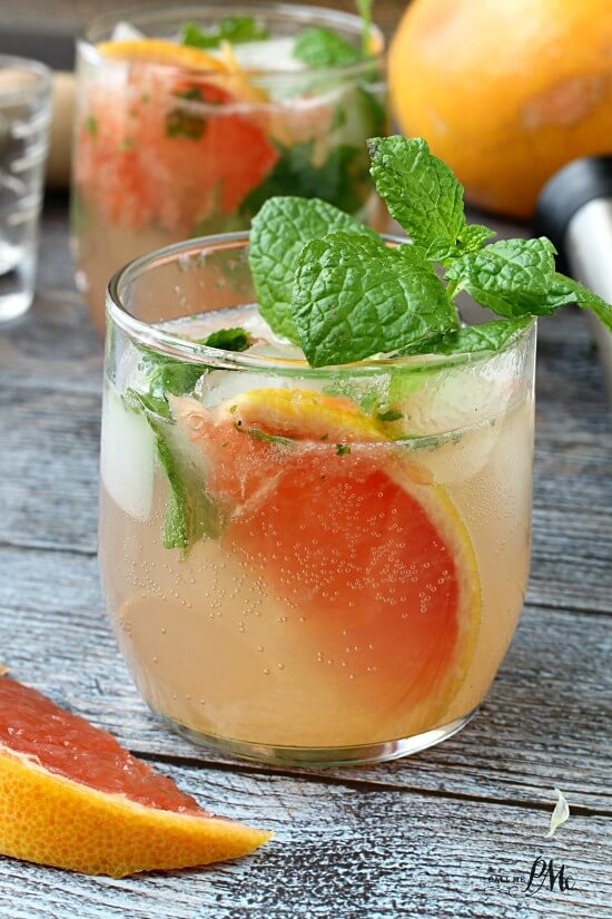 Champagne-Grapefruit-Mojito