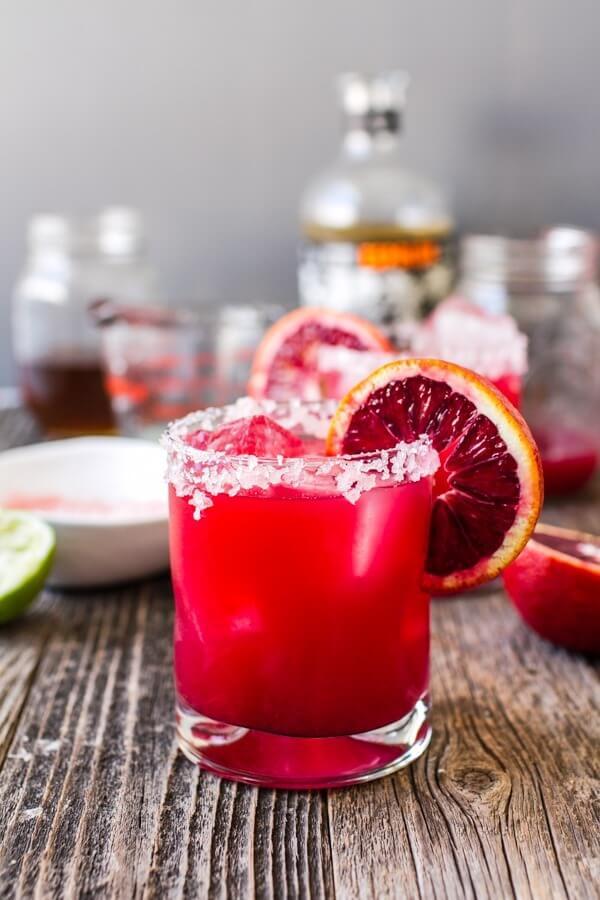 blood orange cocktail margarita