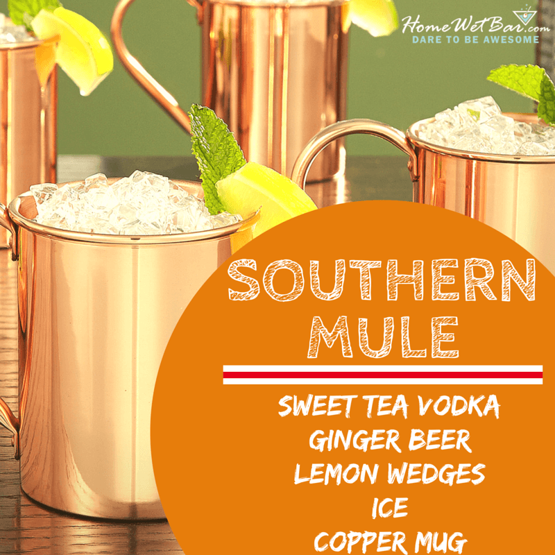 Ingredients for a Southern Mule