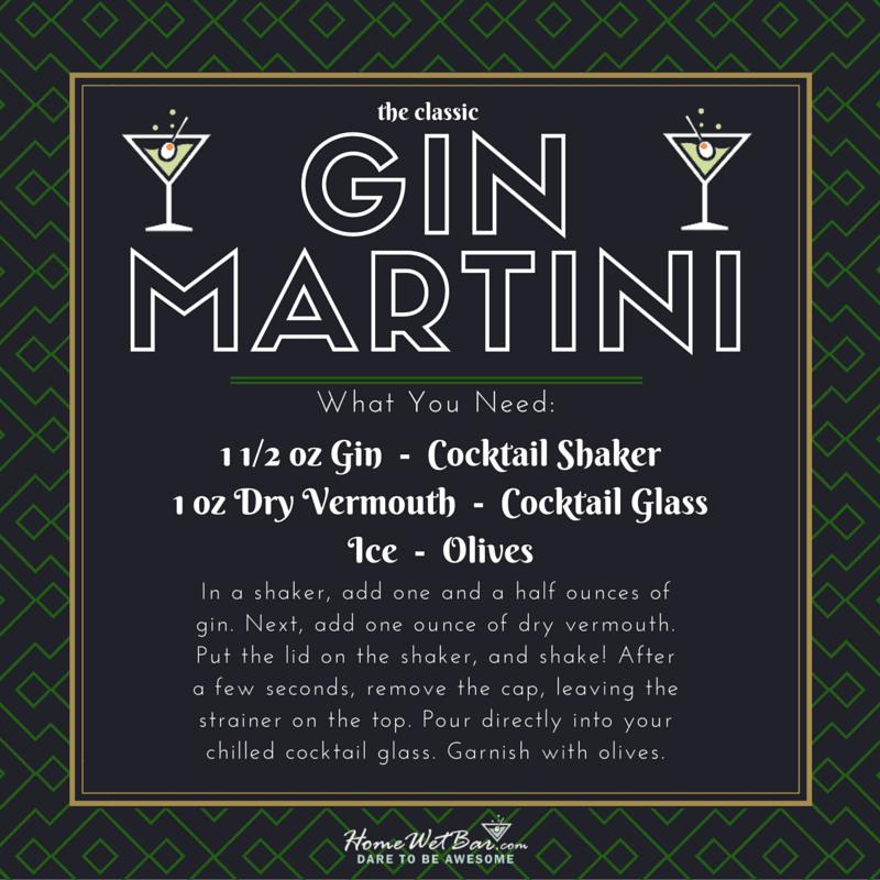 The Classic Gin Martini