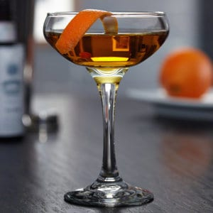 Manly Manhattan Cocktail