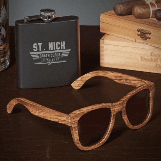 Flask Sunglasses Best Dirty Santa Gifts