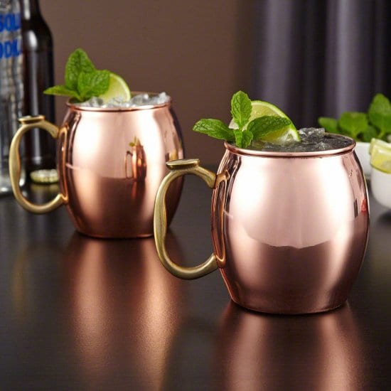 Set of Two Moscow Mule Mugs