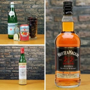 Mixed Drink Recipe Ingredients