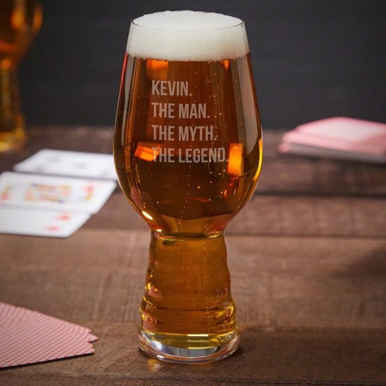 Legendary Pale Ale IPA Glass