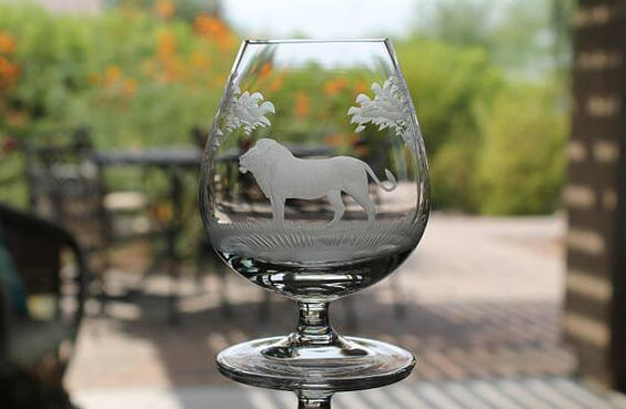 Vintage Crystal Snifter for Drinking Brandy