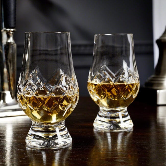 Cut Crystal Glasses for Scotch
