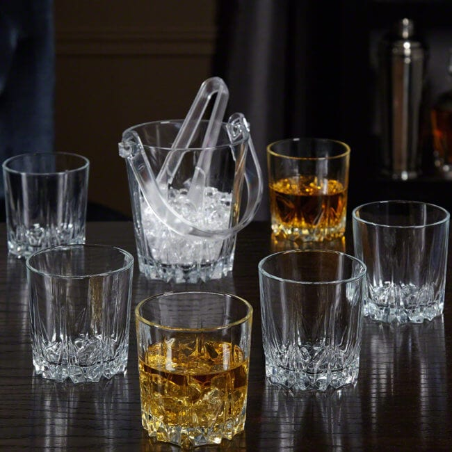 Scotch Cups and Ice Bucket