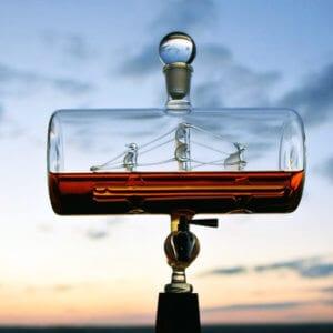 Ship Liquor Decanter Set