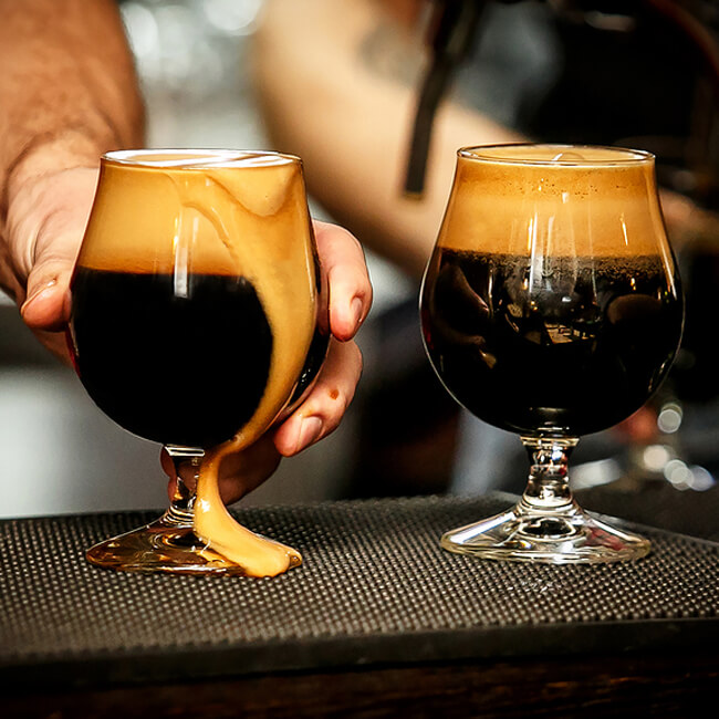 Snifter Glasses for Irish Stout