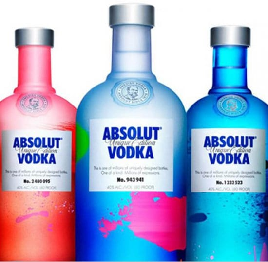 Custom Absolut Vodka Gifts