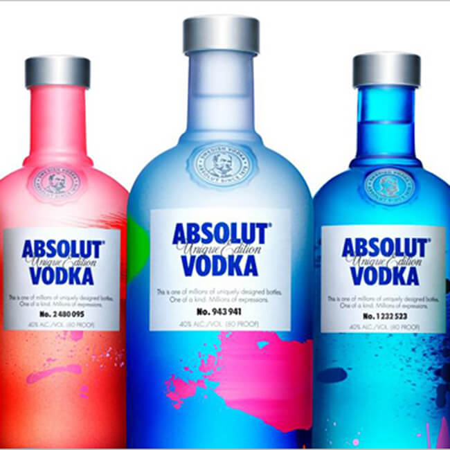 Absolut Bottle Alcohol Gift