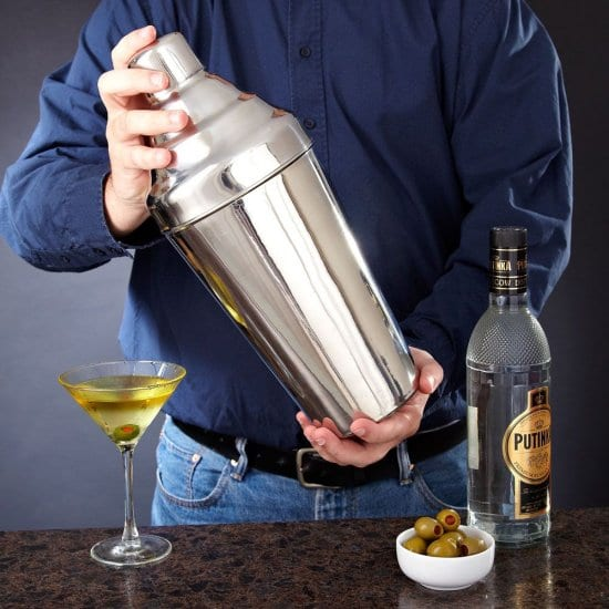 Giant Cocktail Shaker Vodka Gift