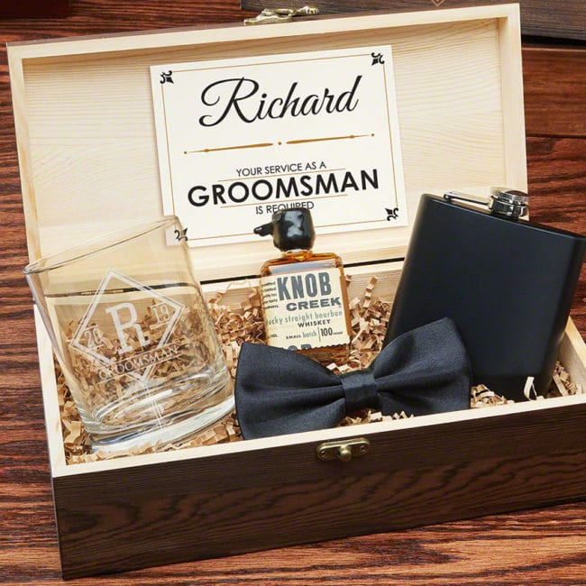 Groomsmen Gift Set Wood Boxed & 37 Best Groomsmen Gifts for 2019