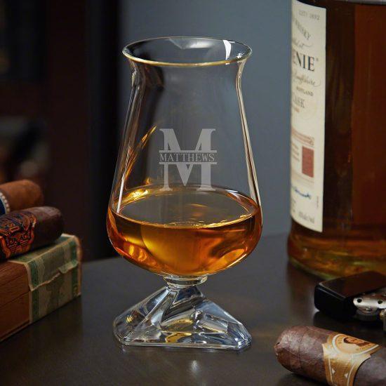 Personalized Bourbon Tasting Glasses