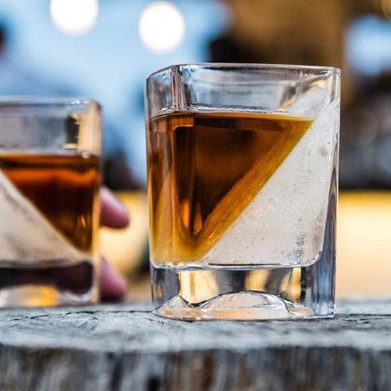 Bourbon Wedge Glass