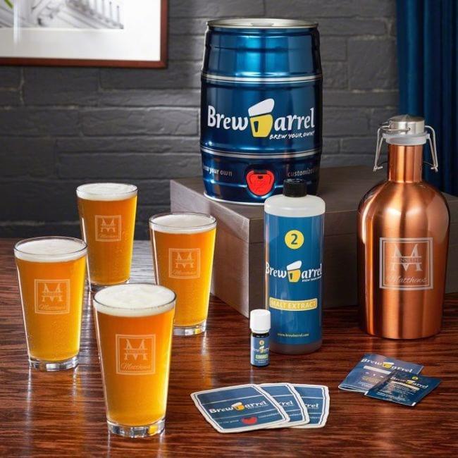 beer brew monogrammed 40th