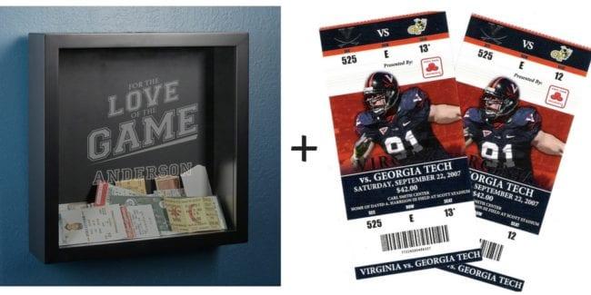 Ticket Holder For Football, Baseball, Basketball Fans