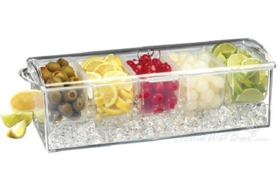 Keep his toppings cold with Condiment Ice Trays