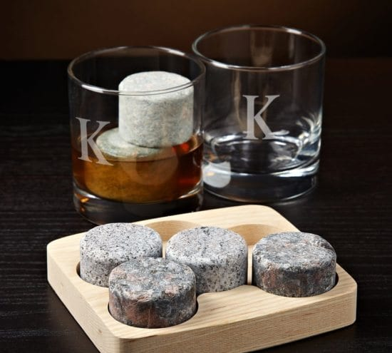 whiskey stone set for dad